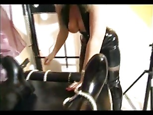 Picture Big Tit Domina Riding A Slave