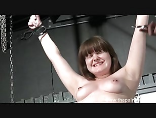 Amateur slave whipping and...