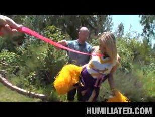 Picture Cheerleader Shawna Lenee Gets Tied Up
