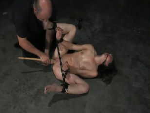 Picture Bound Spanked And Dildo Fucked