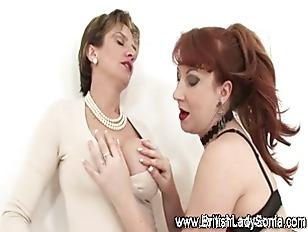 Mature Stocking Slut Lady...