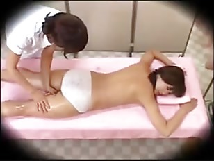Picture Japanese Lesbian Seduction During Massage