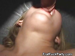 College Blonde Slut Gets...