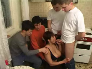 Moms friend gang porn tube