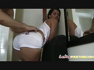 Wide mouthed Latina chokes...