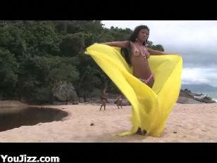 Hot Beach Sex Claudia...
