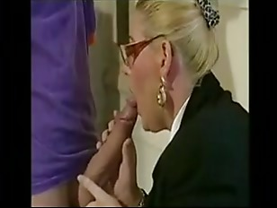 German Headmaster Enjoys Young...
