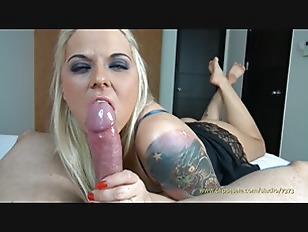 Blonde Hottie Sucking...