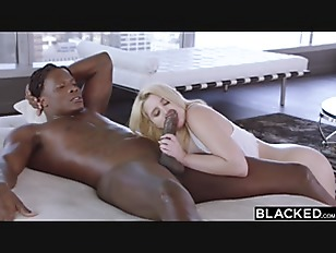 BLACKED 18 years old blonde with massive ass is black cock ONLY