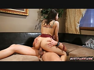 Picture Busty Brunette Hard Fuck On Couch