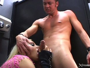 Picture Blonde Young Girl 18+ Nympho Gets Fucked In...
