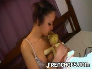 Picture Krystal French Solo Masturbation