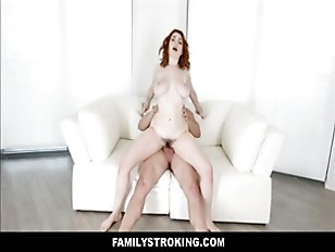 Teen Redhead Stepsister Accidentally Family Fucked By Stepbrother During Fight
