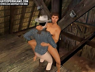Picture Hot 3D Cartoon Hunk Getting Fucked In The Ba...