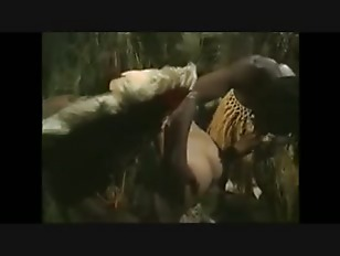 African Tribe Savages Brutally Rape American Woman In Jungle -  PornVideosrs.flv