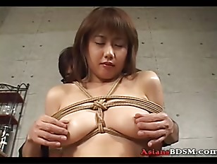 Hot Slut Hogtied And...