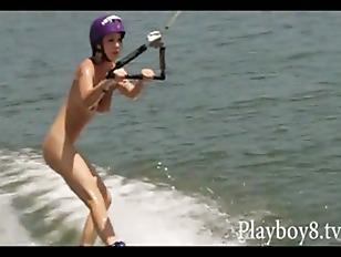 Hooters girl hardcore videos