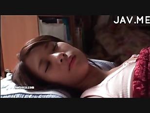 Sleeping asian beauty