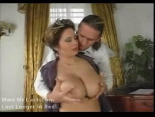 Constance Busty Brunette...