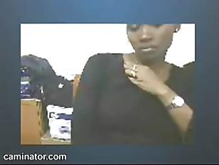 Ebony MILF Teases For...