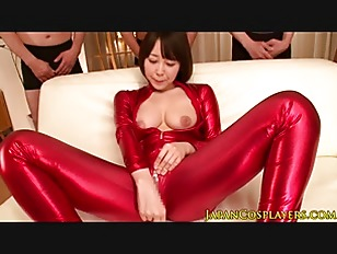 Picture Limber Asian Cosplay Babe Sucking Cock