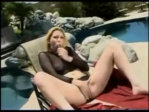 Picture Aurora And Trinity Poolside Anal