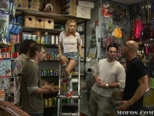 Picture Lexi Belle The Little Slut At The Pet Store