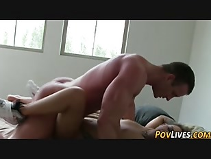 Teen Gets Pov Cum...