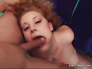 Picture Redhead Gets Cumfilled Tits