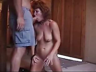 Slave Homemade Dick Training...