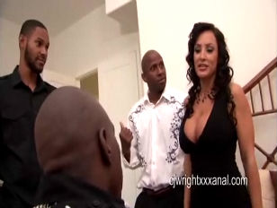 Picture Lisa Ann Gangbanged By 3 Black Dicks