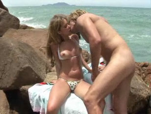 Picture Gabi Hot Latina Sexed At The Beach