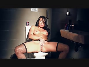 Truck Stop Bathroom Stall...