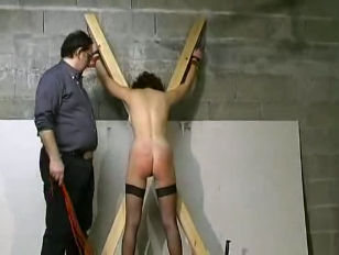 French Whore Abused...