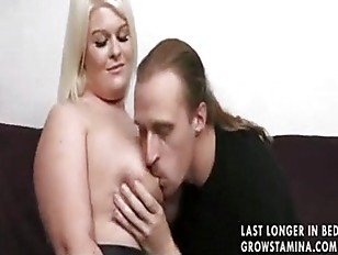 Picture Hot Blonde Fucked On Sofa