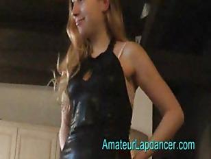 Gorgeous Czech teen Lapdance...