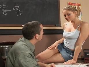 Teen Emily fucks her teacher
