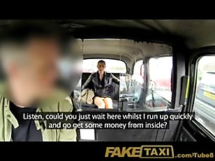 Picture FakeTaxi No Money, So She Pays With Her Puss