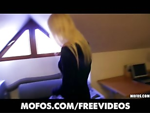 Picture Platinum Blonde Czech Girl Is Picked Up In T...