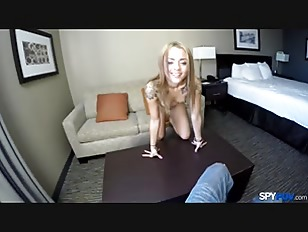 Blonde young chick fuck...