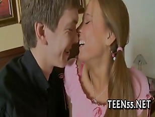 Teen Drilled By Her...