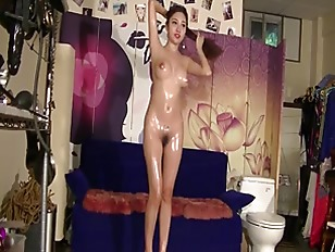 Chinese Model ??? Li ZiXi - Bondage Shoot BTS Part 3