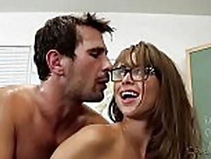 Busty teacher riley reid...