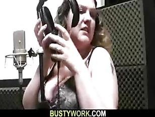 BBW Singer Takes It...