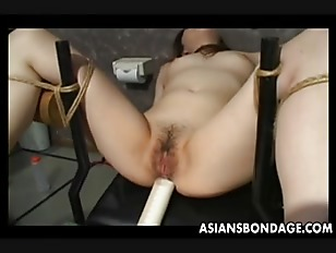 Asian Slave Tied Up...