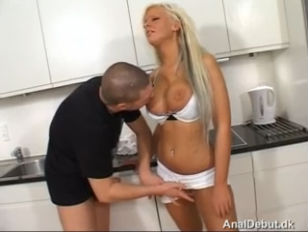 Sanne is a big breasted blonde