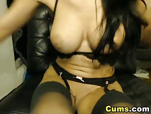 Picture Sexy Babe Masturbating Hard With A Dildo