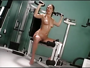 Naked And Sweaty Workout...