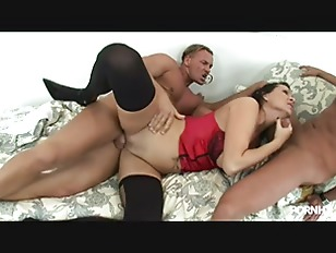 Threesome With A Thick...