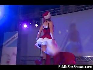 Mrs Santa Claus Stripper...